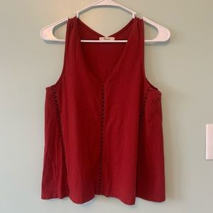Madewell Tank with Cutouts